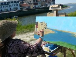 stages Weekends de peinture en baie de somme.